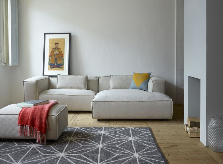 #FestAmsterdam Dunbar sofa + cushion Heart Amber + Syrup quilt. See our full collection on: www.festamsterdam.nl. Photo by Tjitske van Leeuwen. #sofa #dunbar #festamsterdam #modernliving #livingroom #design