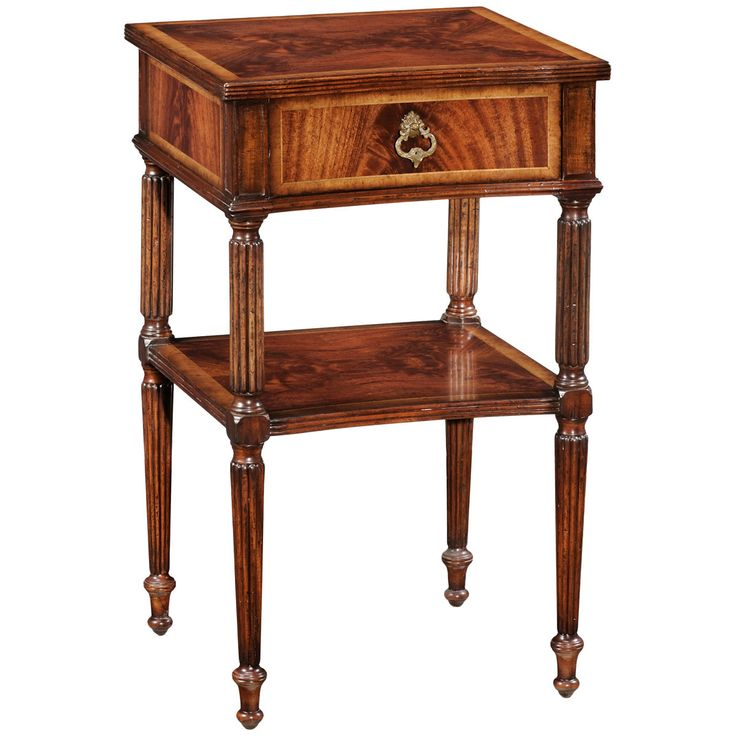 Jonathan Charles Regency Style Bedside Table