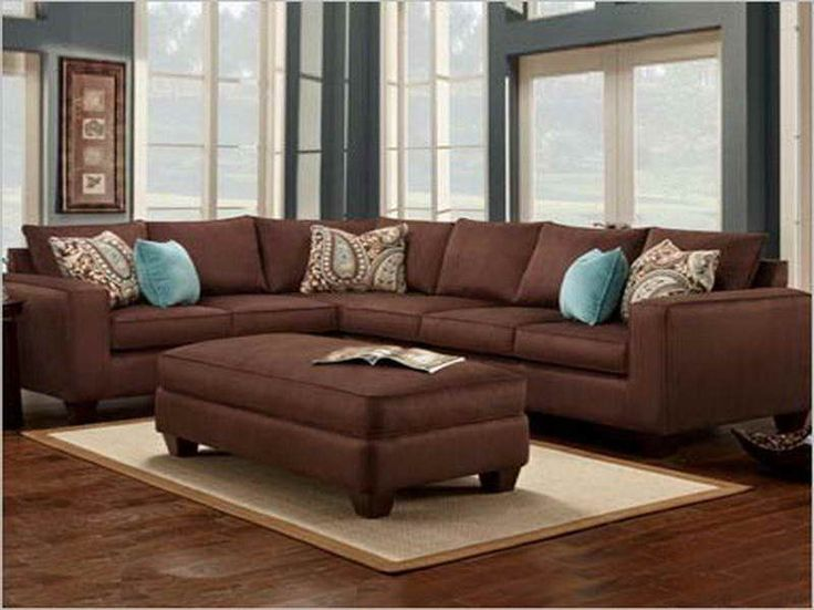 Turquoise And Brown Living Room best 25+ chocolate brown couch ideas that you will like on