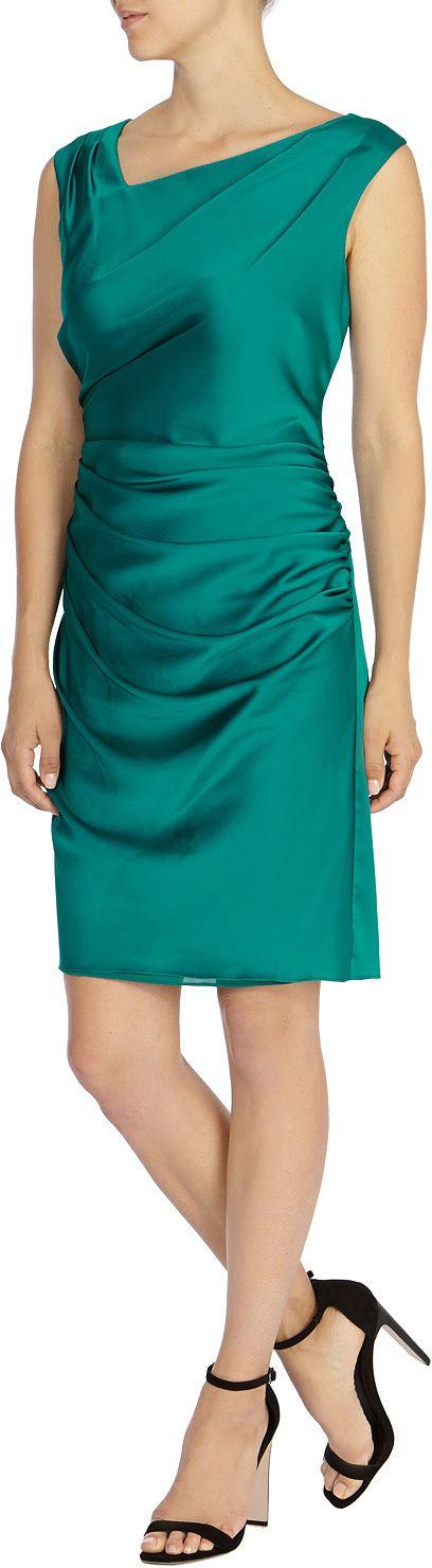 Womens teal kadee dress from Coast - £69 at ClothingByColour.com