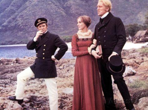Hawaii, Richard Harris, Julie Andrews, Max Von Sydow, 1966 Photo