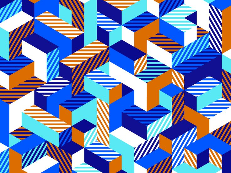 Isometric Pattern by Greg Anthony Thomas