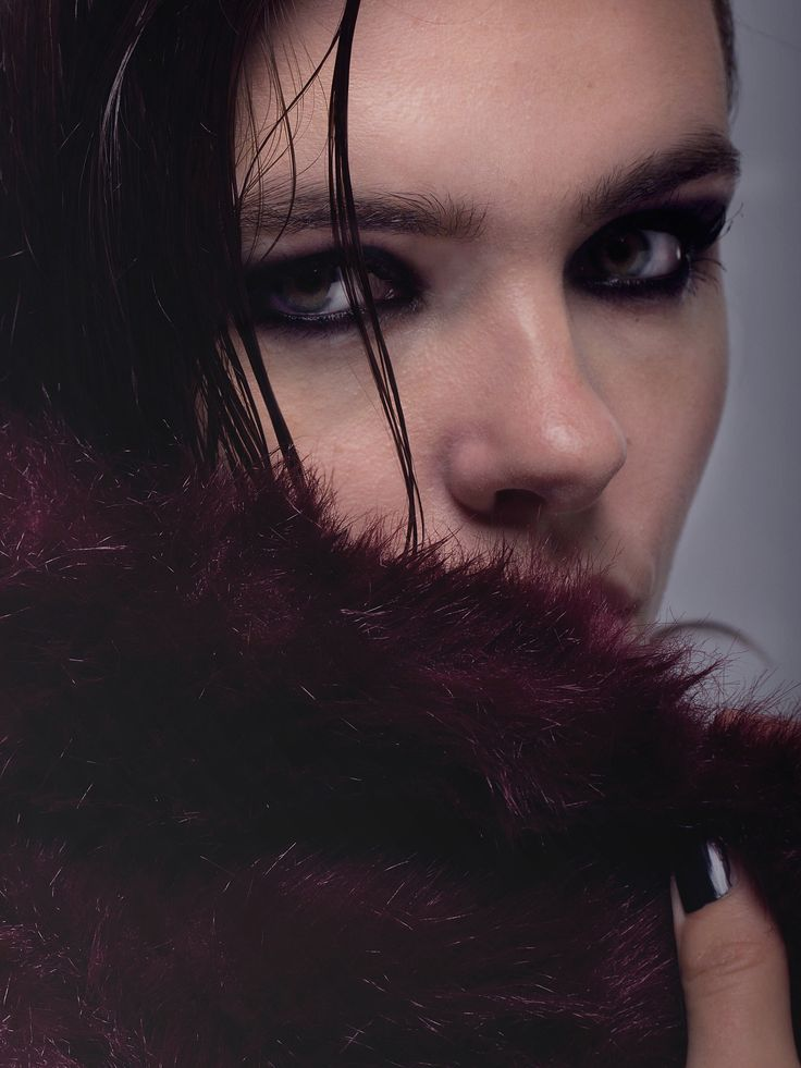 Dark Beauty Fashion Photography --- Photo by Edith De Michele. Aleksandra by Beyond Agency (Milan).