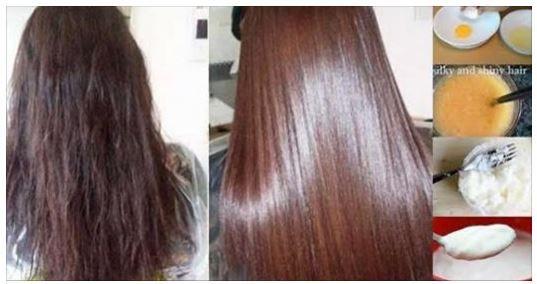 Ayez les cheveux plus lisses et soyeux sans dépenser d'argent avec ces 3 traitements naturels