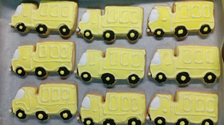 Sugar cookies trucks  Under construction