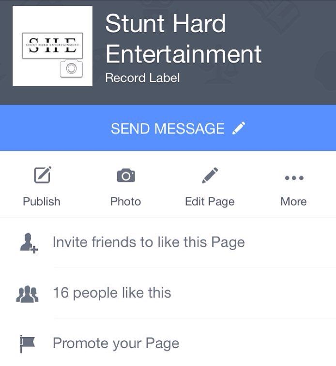 Follow Stunt Hard Entertainment's new official Facebook page. Show us some love.