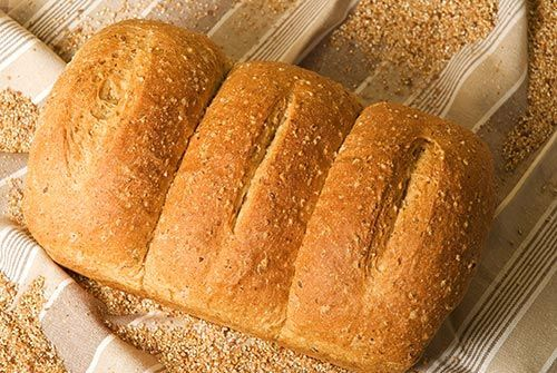 Delicious as bread or toasted. I was looking for a high fiber bread recipe. via @SparkPeople