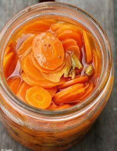 Pickle de carottes au gingembre
