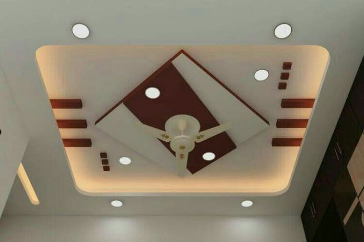 Modern Plus Minus Pop Design For Roof