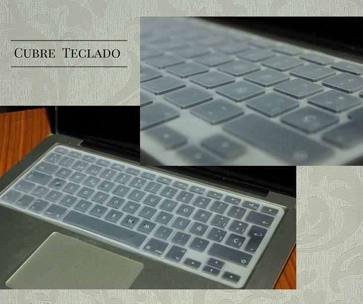 Cubre teclado de silicon para macbook. #transparente #limpio #teclado #macbook #mac #regalo #awwww #bonito #tierno #14feb #valentine #protector #resistente #colores #moda #accesorio #apple #keyboard #accesories #bello #trendy #cute #gift #valentine's #love