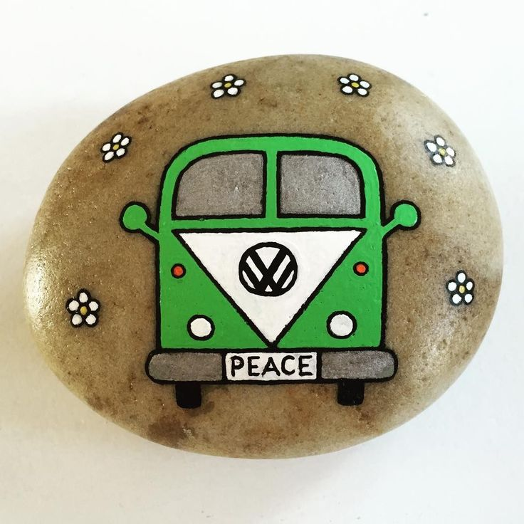 .easy painting rock ideas
