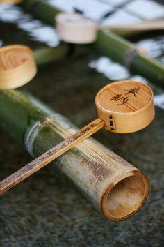 Hishaku - Traditional Japanese Bamboo Water Ladle