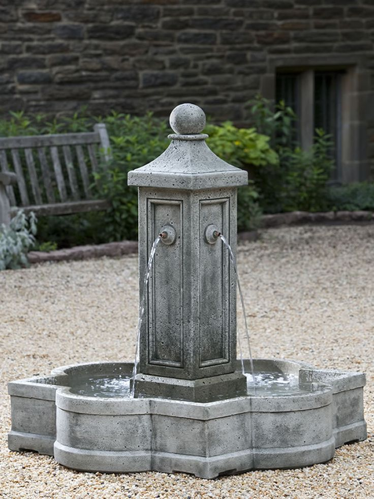 Provence Fountain - Garden Fountains & Outdoor Decor: