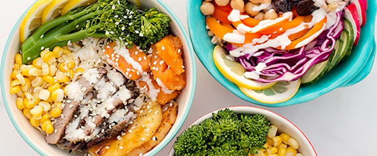Ditch your boring sandwich or salad, and try a healthy lunch bowl that is filling, balanced, and nutritious instead.