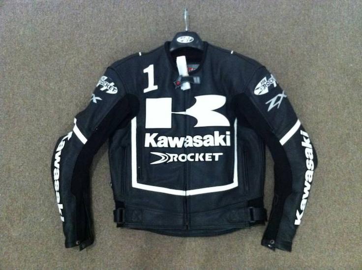Joe Rocket Kawasaki Zx Leather Jacket