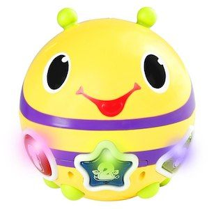 Bright Starts Having a Ball Roll and Chase Bumblebee Toy