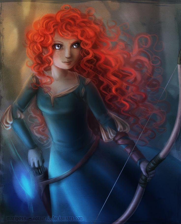 Merida, I like the slightly unusual colours hereBrave, Disney Stuff, Princesses Merida Brav, Disney Princesses, Disney Pixar, Disney Addict 3, Merida Disney, Disney Awesome, Disneystuff