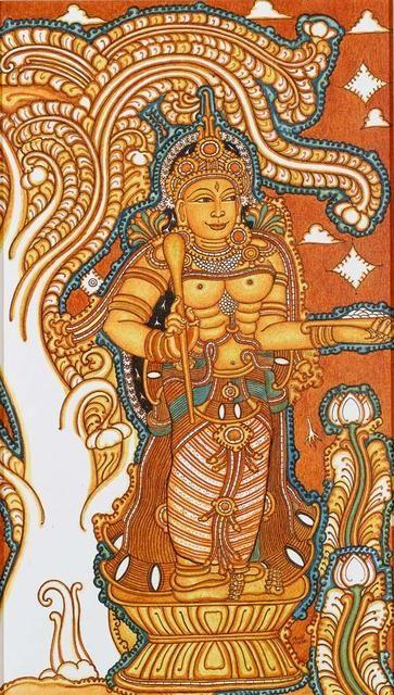 Kerala mural painting
