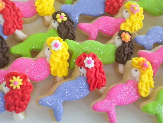 Mermaid Mini Sugar Cookies 2 Dozen by acookiejar on Etsy, $27.95: Sugar Cookies, Mermaids Party, Ariel Cookies, Minis Mermaids, Mermaids Minis, Minis Sugar, Mermaids Cookies, Cookies Decoration, Decoration Cookies