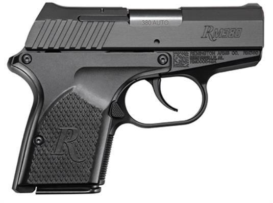 Remington RM380 Compact Micro .380 ACP 2.9 Barrel Black Finish 2- 6 Rd Magazines