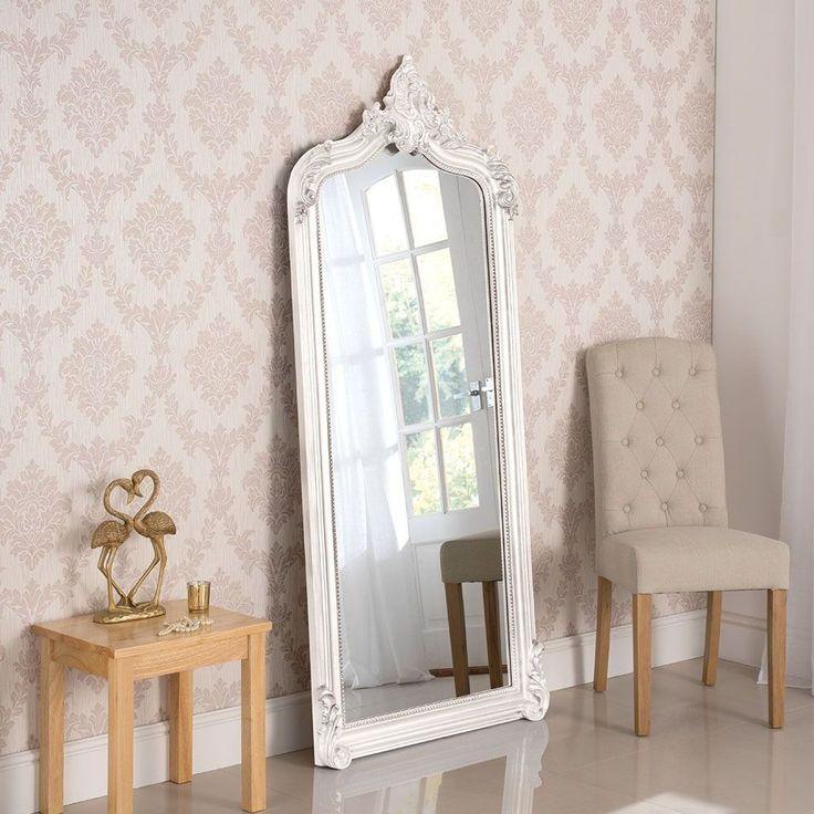 YG136 White Arch Leaner Mirror in 2020 Leaner mirror