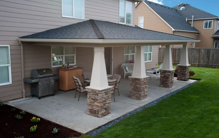 High Quality Patio Extension Ideas #3 Patio Roof Extension ... on Backyard Patio Extension id=53995