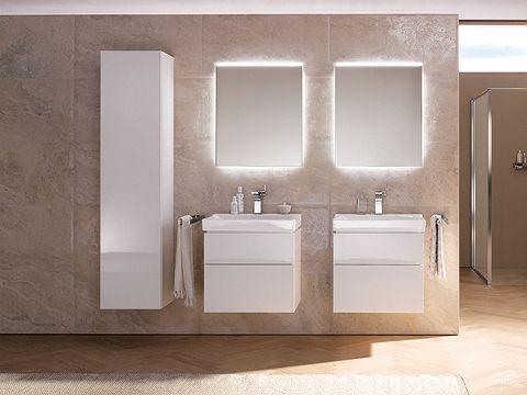 Salle de bains XENO² - Meubles point d'eau, composables - 60 cm - ALLIA innove pour vous depuis 1892