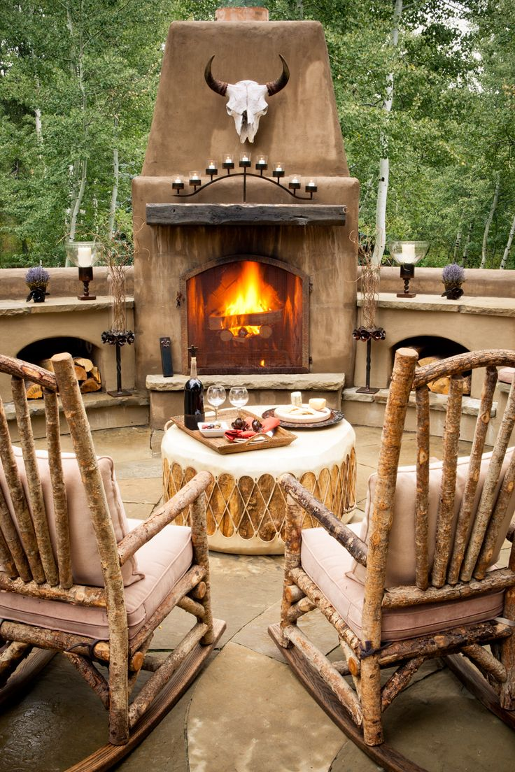23 best images about western outdoor decor on pinterest for Rustic outdoor decorating