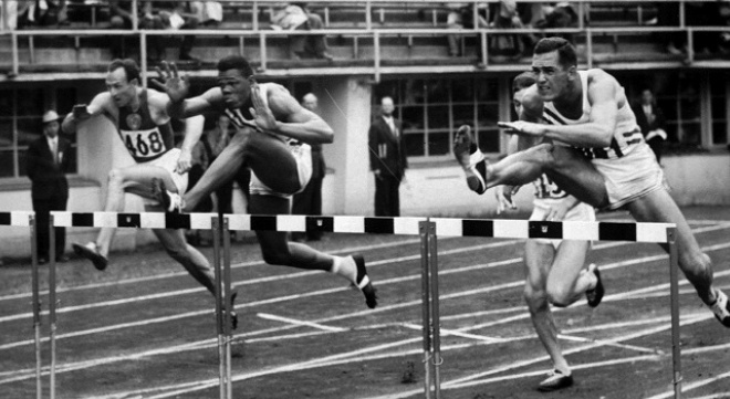 Little Known Black History Fact: Milt Campbell | Black America Web  Milt Campbell was the first African-American to win the Olympic decathlon. Campbell took home the gold in the 1956 Australian games. This was after he had taken home the silver in the 1952 games. That same year Campbell was named high school player of the year, placing all-American in swimming and karate.