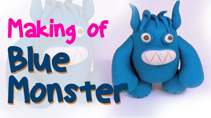 Blue Monster Clay Model | Monster Company | Randall Boggs | Clay Modelin...