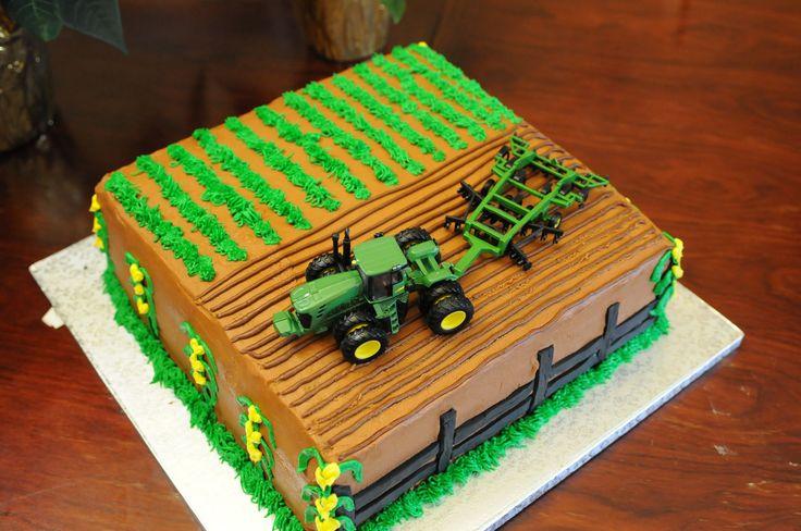 John Deere Cake @Mandy King Robertson