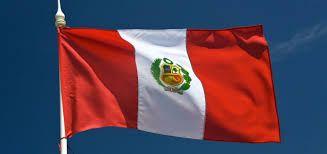 Resultado de imagen para bandera del peru