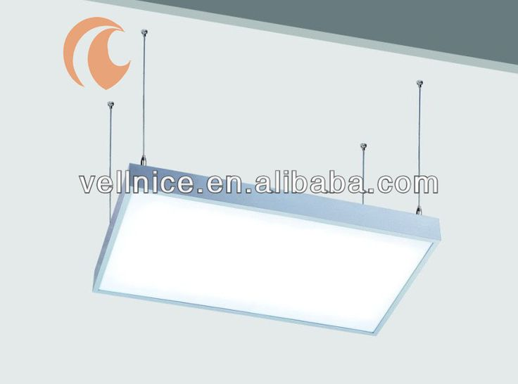 Interior T5 tube panel luminaire fluorescent ceiling light / T5 tube office panel light $00