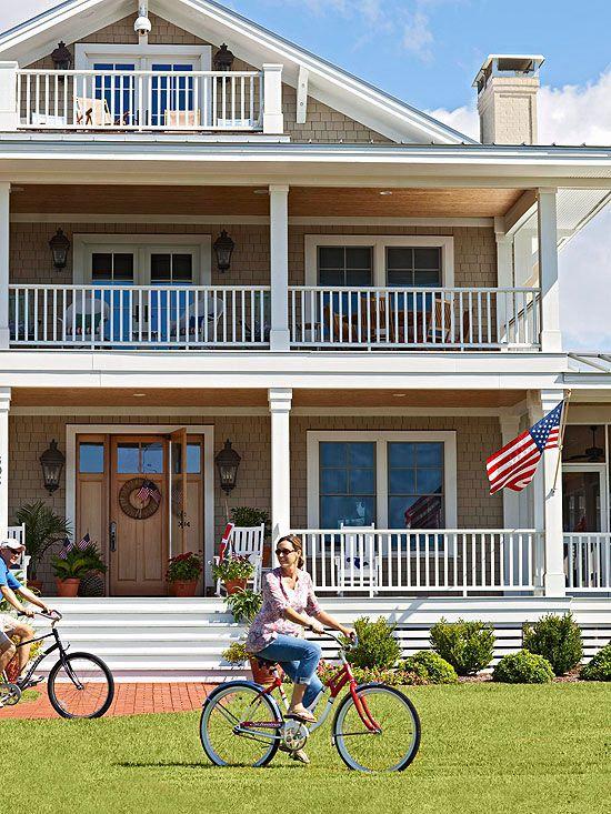 Best exterior color schemes - Beach house color schemes exterior ...