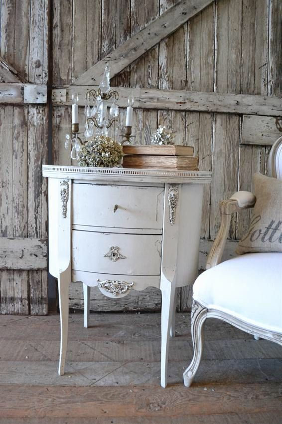 Shabby Chic French table by FullBloomCottage on Etsy