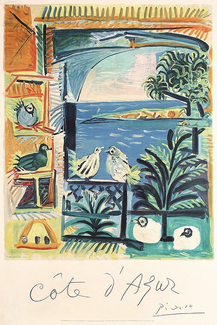 """Cote d´Azur // Picasso 1960 """"Confront them with annihilation, and they will then…"""