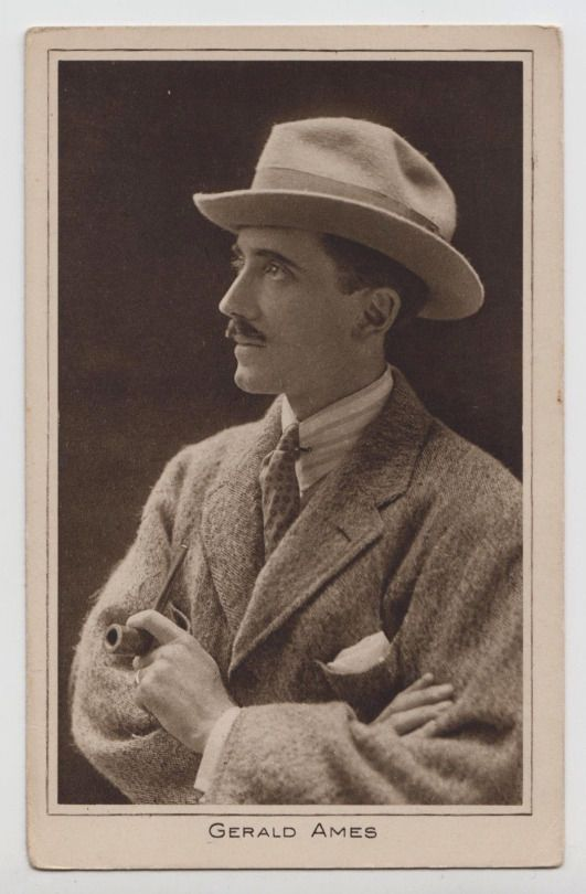 Gerald Ames (12 September 1880 – 2 July 1933) was a British actor, film director and Olympic fencer. Ames was born in Blackheath, London in 1880 and first took up acting in 1905. He was a popular leading man in the post-First World War cimema, appearing in more than sixty films between his debut in 1914 and his retirement from the screen in 1928 in a career entirely encompassing the silent era