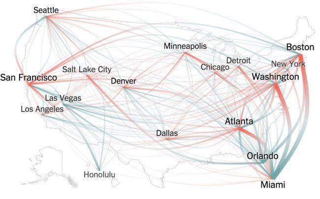Thanksgiving Flight Patterns
