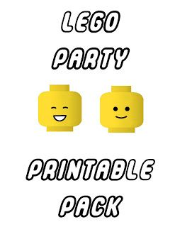 Aussie Pumpkin Patch: Lego Party Printables