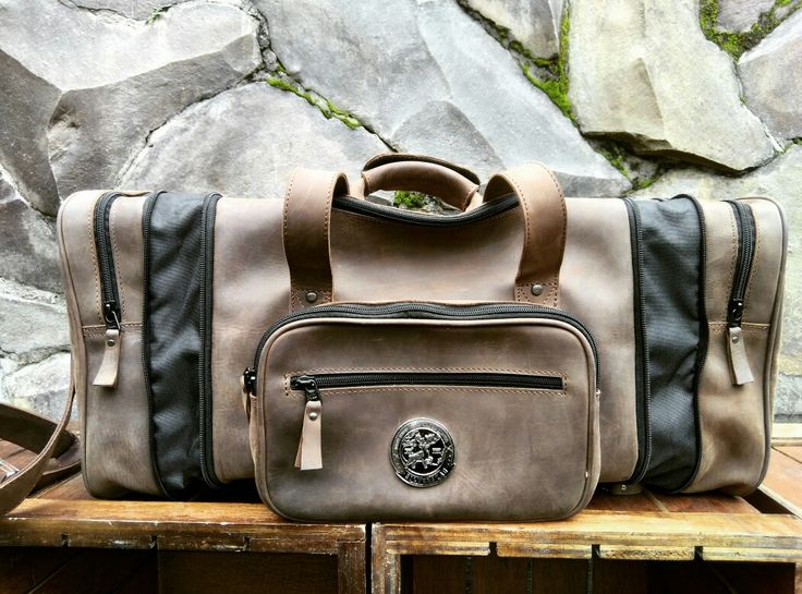 'We did not come to this world to be average'  Introducing, the Silverstag Commander I - Crazy Horse 'El Loco Comandante'  5 in 1 superior weekender bag! from Duffle to expandable weekender, backpack, or even mini sling bag with amazing feature 🍻