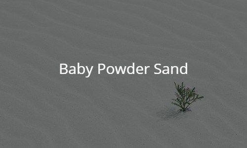 Baby Powder Sand - Hooked n Science