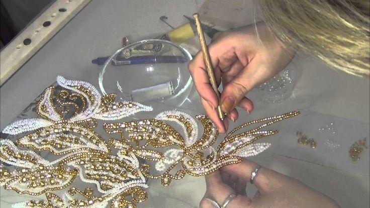 Люневильская вышивка от Виктории Бойко (вышивка люневильским крючком в а...