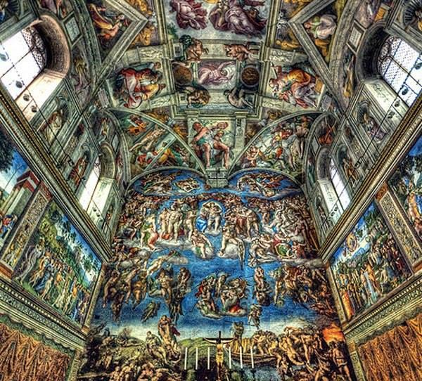 This is the Sistine chapel
