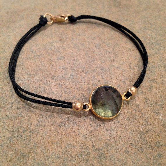 Bella And Bo Hard Candy Corded Labradorite Gemstone by BellaAndBo, $54.00