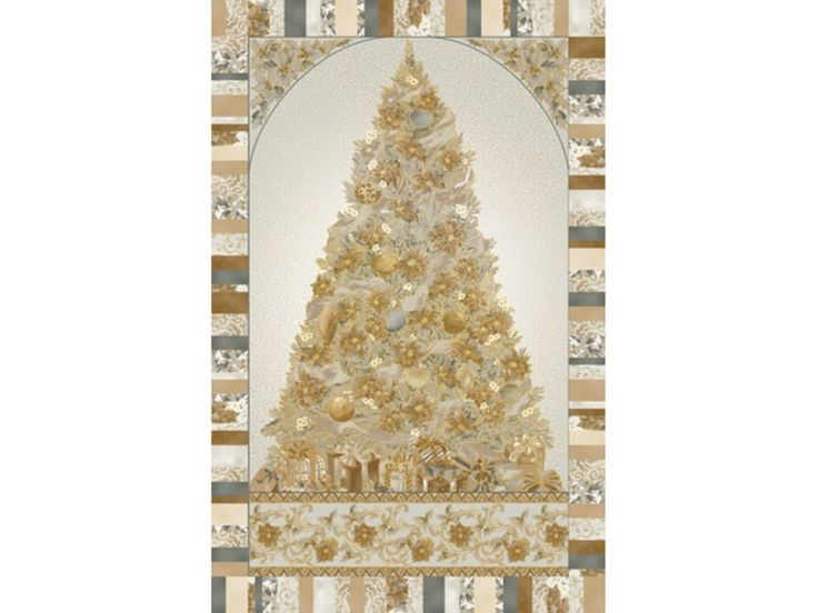 Home for the Holidays Christmas is Coming! Gold Quilt Kit