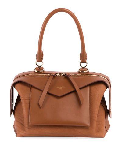 GIVENCHY SWAY MEDIUM LEATHER SATCHEL BAG.  givenchy  bags  shoulder bags  hand  bags  leather  satchel   46873bbce86a4