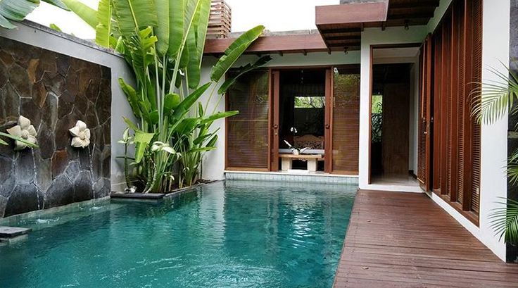 One of our Private pool Villa - is a perfect gateway for honeymooners,couple  who seeking for serenity. Great photo : @michihuhn https://goo.gl/uXMGZ6