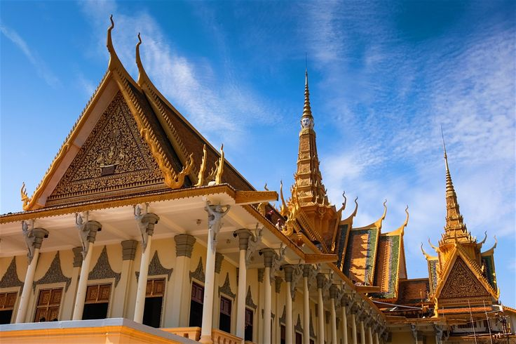 Phnom Penh (ភ្នំ ពេញ): the name can't help but conjure up an image of the exotic. The glimmering spires of the Royal Palace, the fluttering saffron...