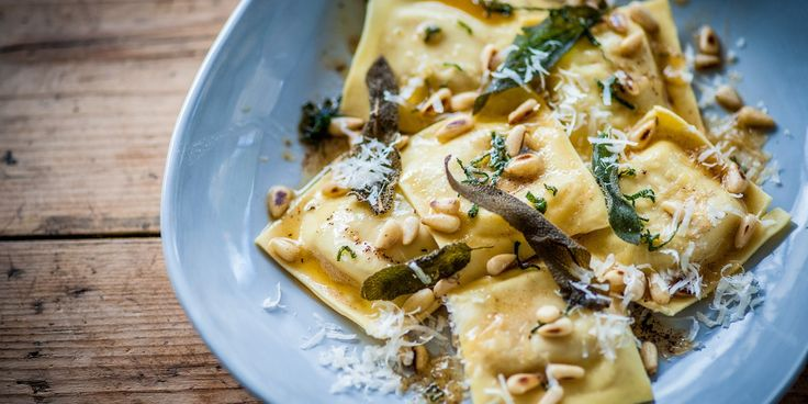 Making a homemade ravioli has never been more appealing than in this turkey ravioli recipe from Dominic Chapman