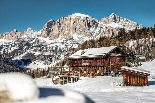 Rifugio Capanna Nera - Negerhütte - Corvara - Alta Badia